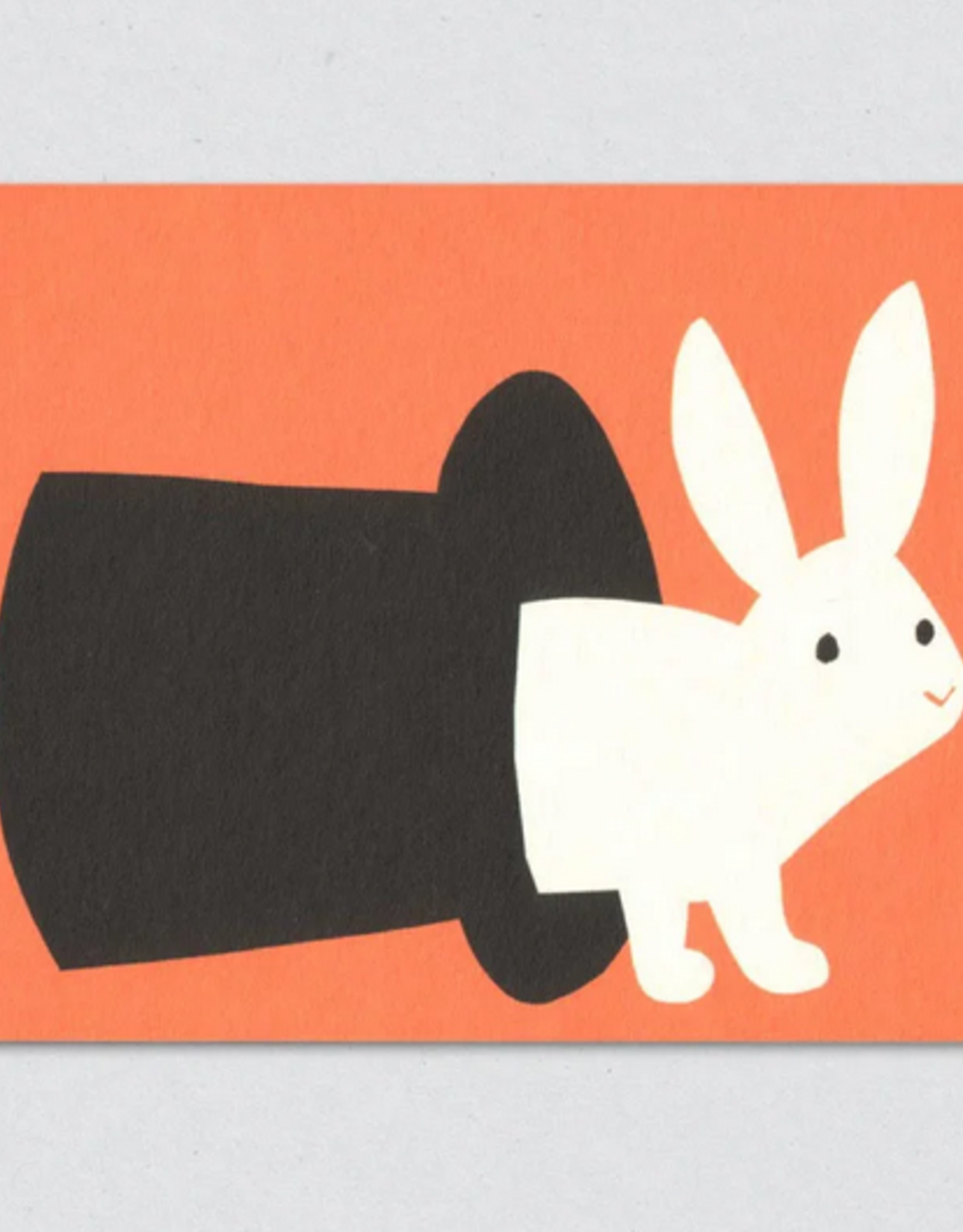 Magic Rabbit Greeting Card