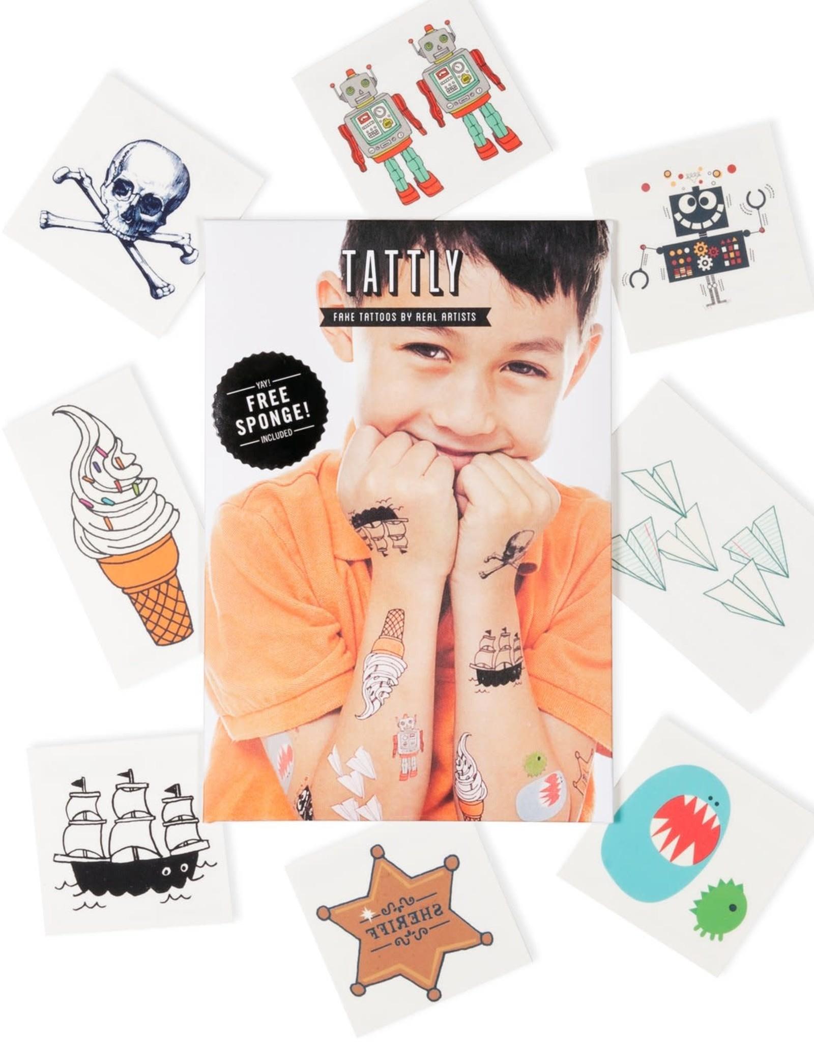 Kids Mix One Tattoo Set