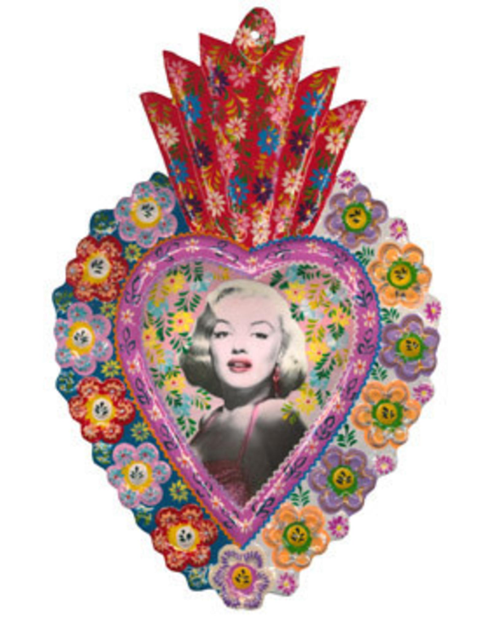 Handpainted Milagro - Marilyn Monroe