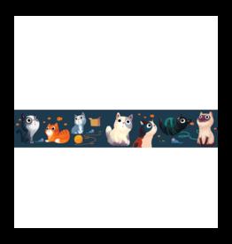 Wide Meow Washi Tape
