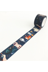 Wide Meow Washi Tape