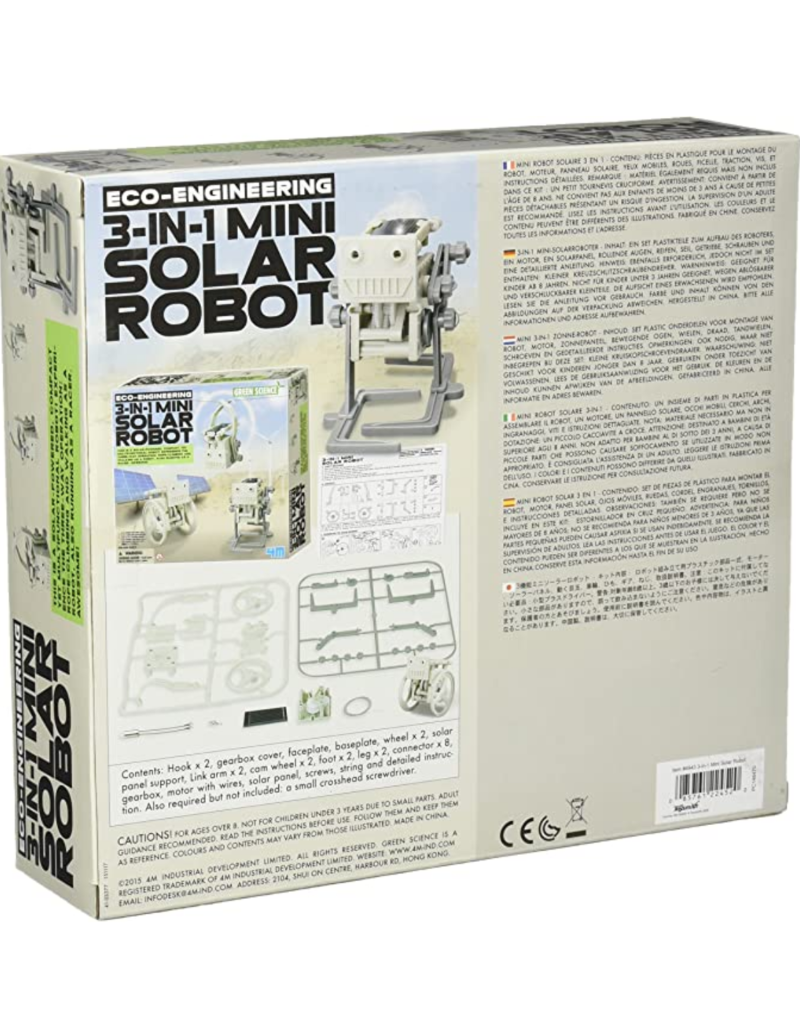 Solar 3 in 1 Robot