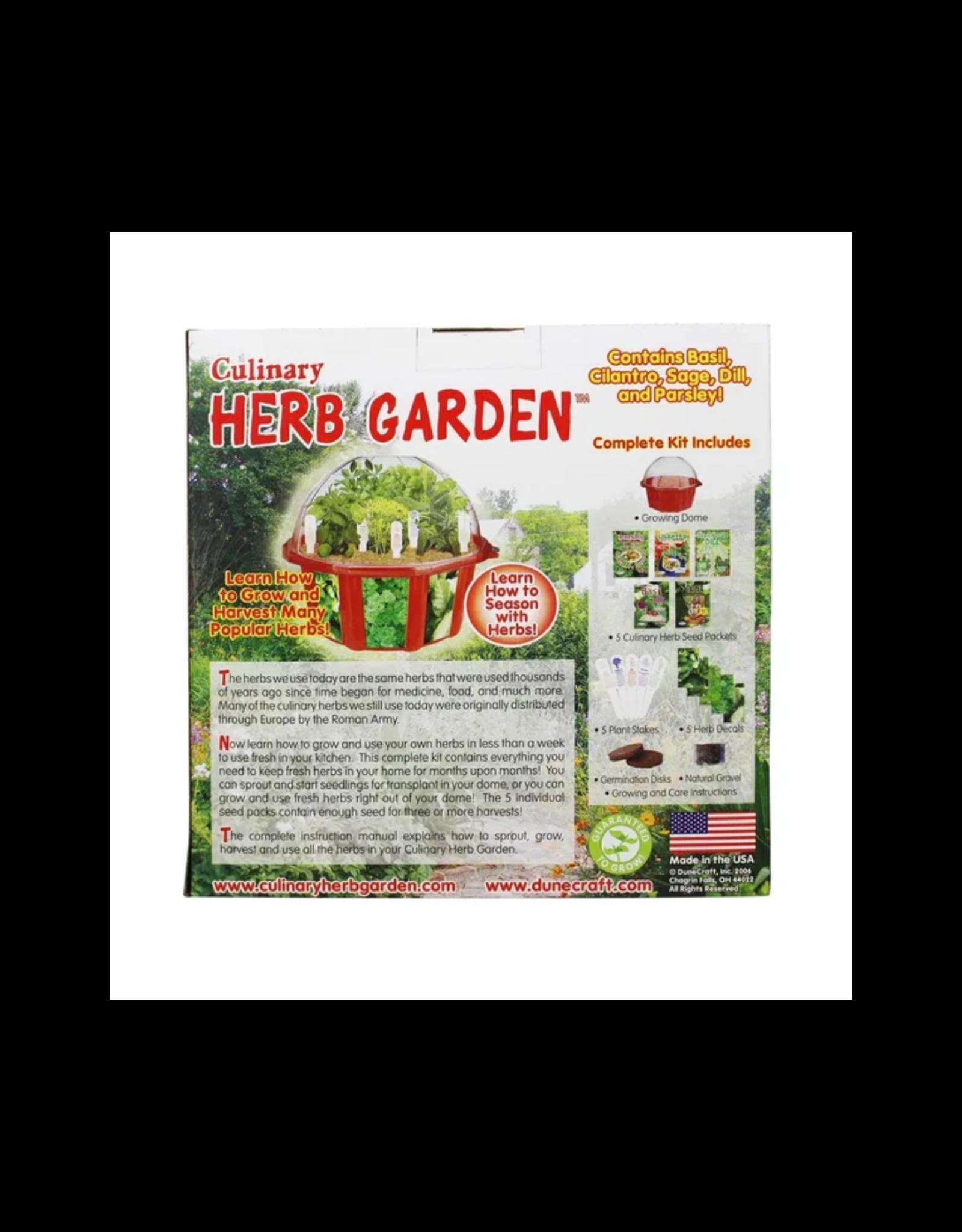 Dome Terrarium Herb Garden