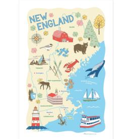 New England Region Kitchen Towel