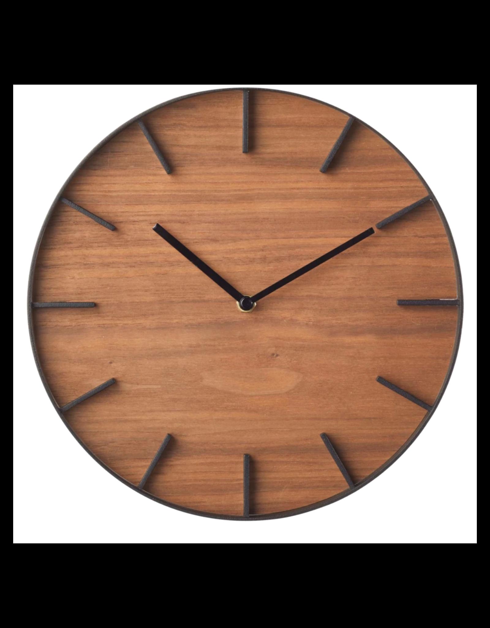 Rin Wall Clock - Brown