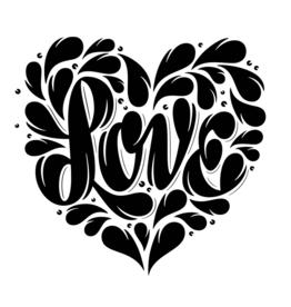 Shape Of Love Tattoo