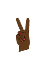 Peace Hand Enamel Pin