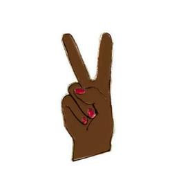 Peace Hand Enamel Pin