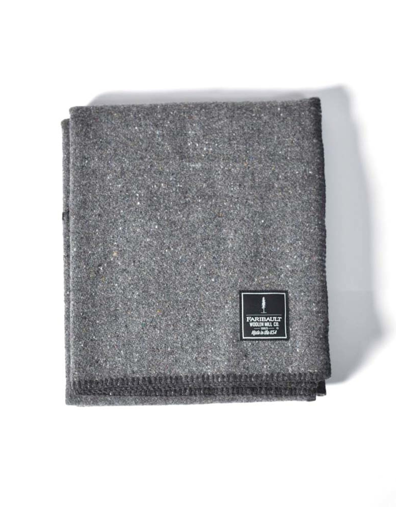 Recycled Wool Blend Throw