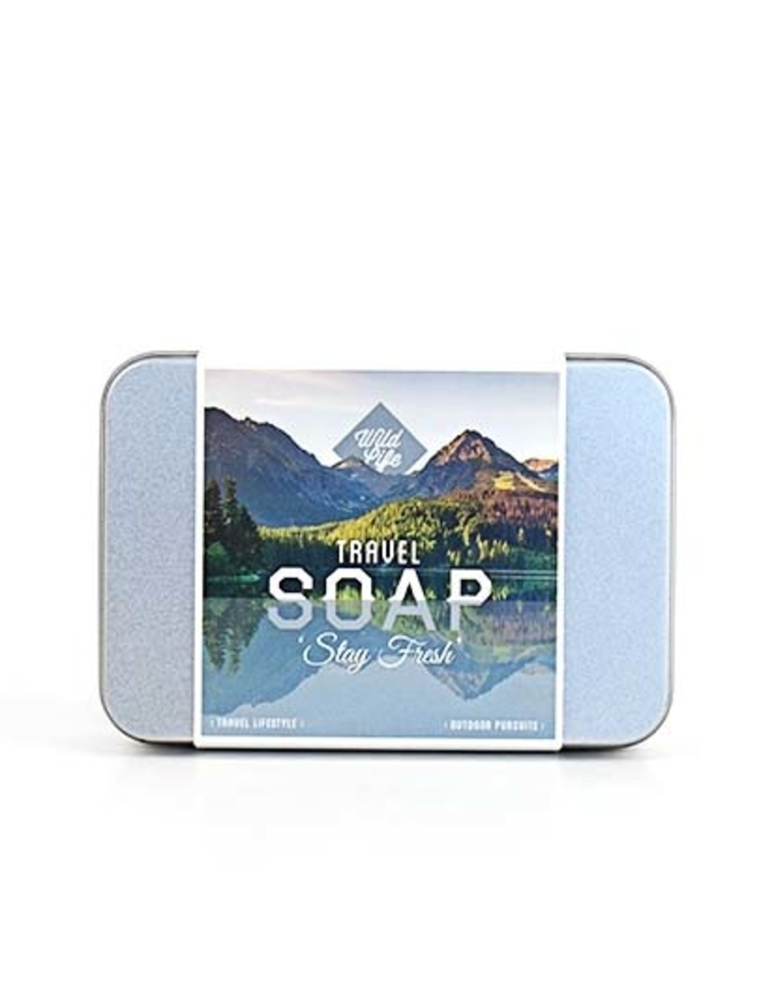 Wildlife Travel Soap In a Tin