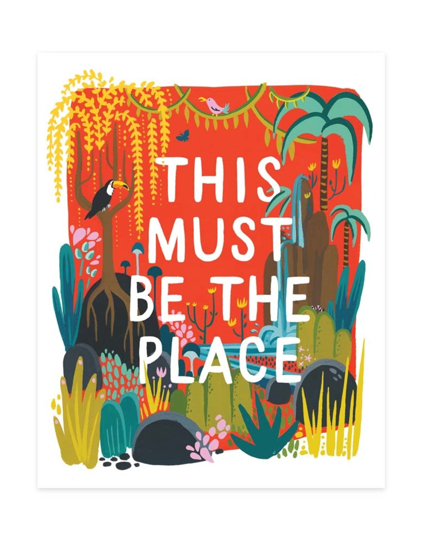This Must Be the Place Print