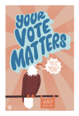 Your Vote Matters Poster