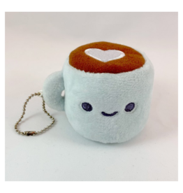 Coffee Plush Keychain