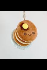 Pancake Stack Plush Keychain