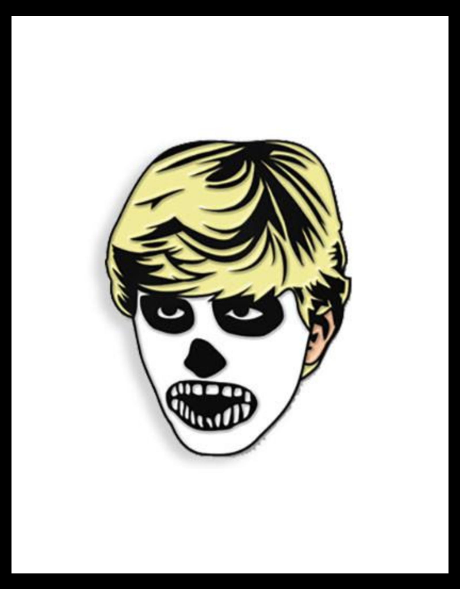 Johnny Zombie Enamel Pin