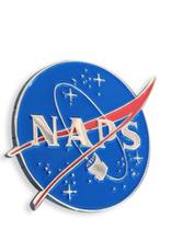 Naps (NASA) Enamel Pin
