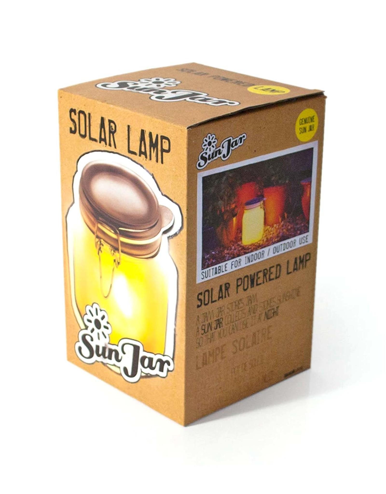 Solar-Powered Mason Jar Lamp