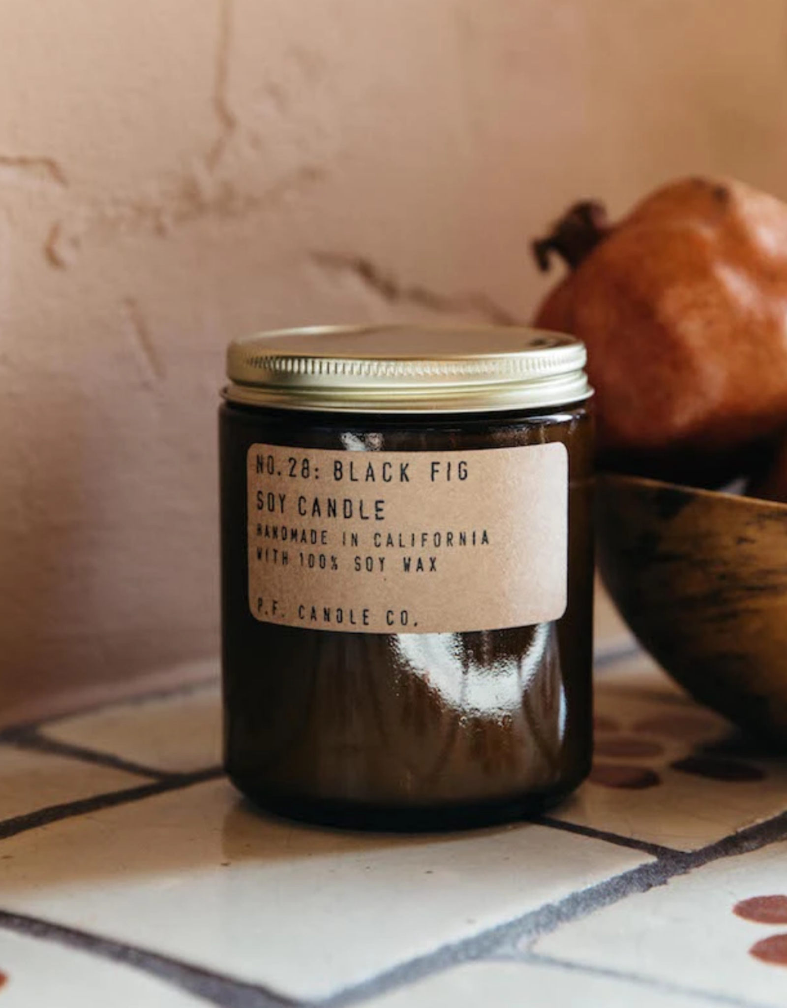 Classic Line Soy Candle - 7.2 Oz Black Fig