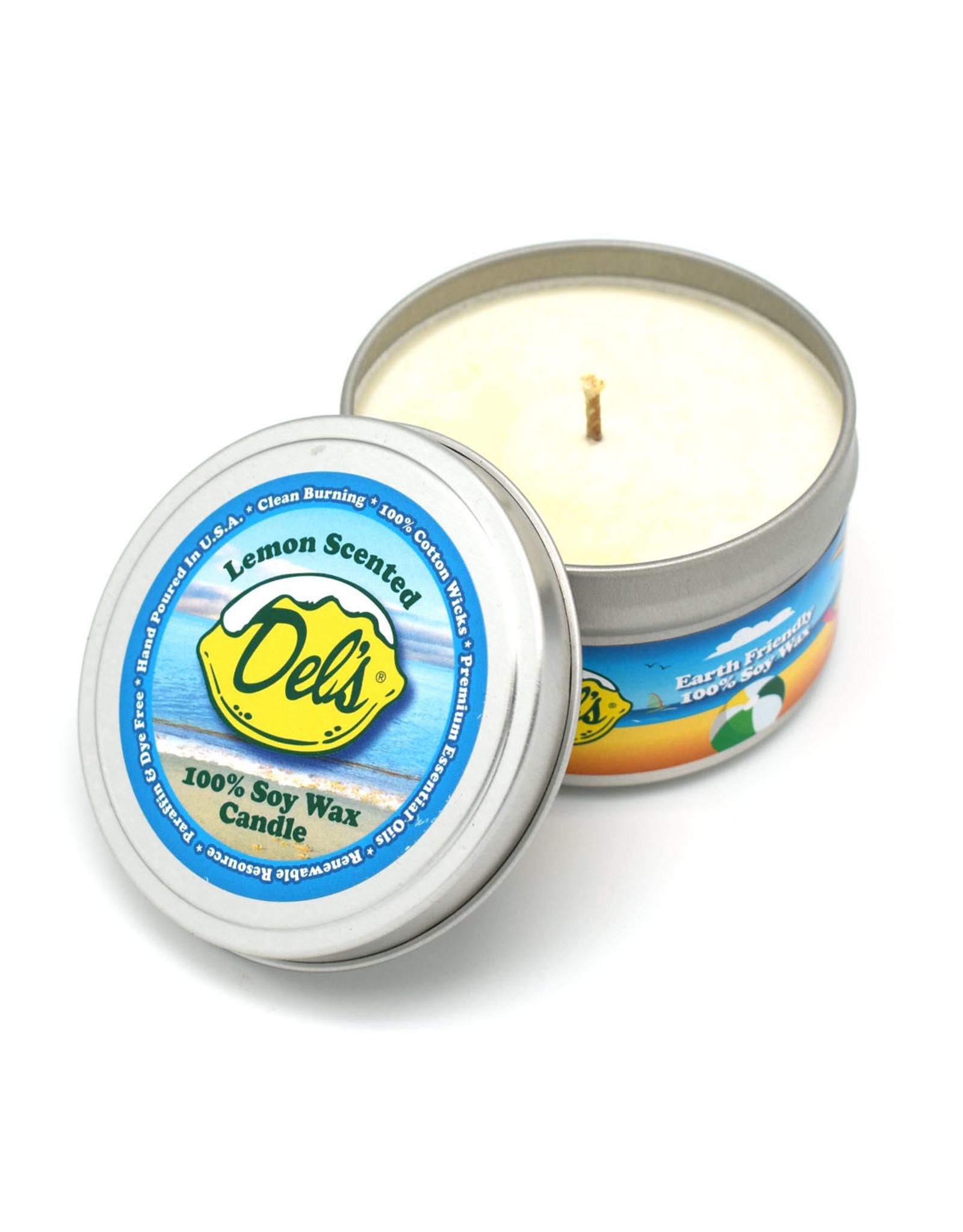 Del's Lemonade Candle - Lemon