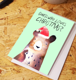 Who Loves Christmas Greeting Card