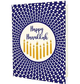 Radiant Hanukkah Greeting Card