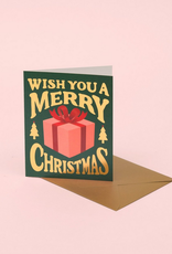 Merry Christmas Present Greeting Card