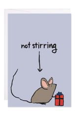 Mouse Not Stirring Mini Card