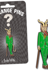 Krampus Enamel Pin
