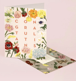 Sofia Floral Congratulations Greeting Card