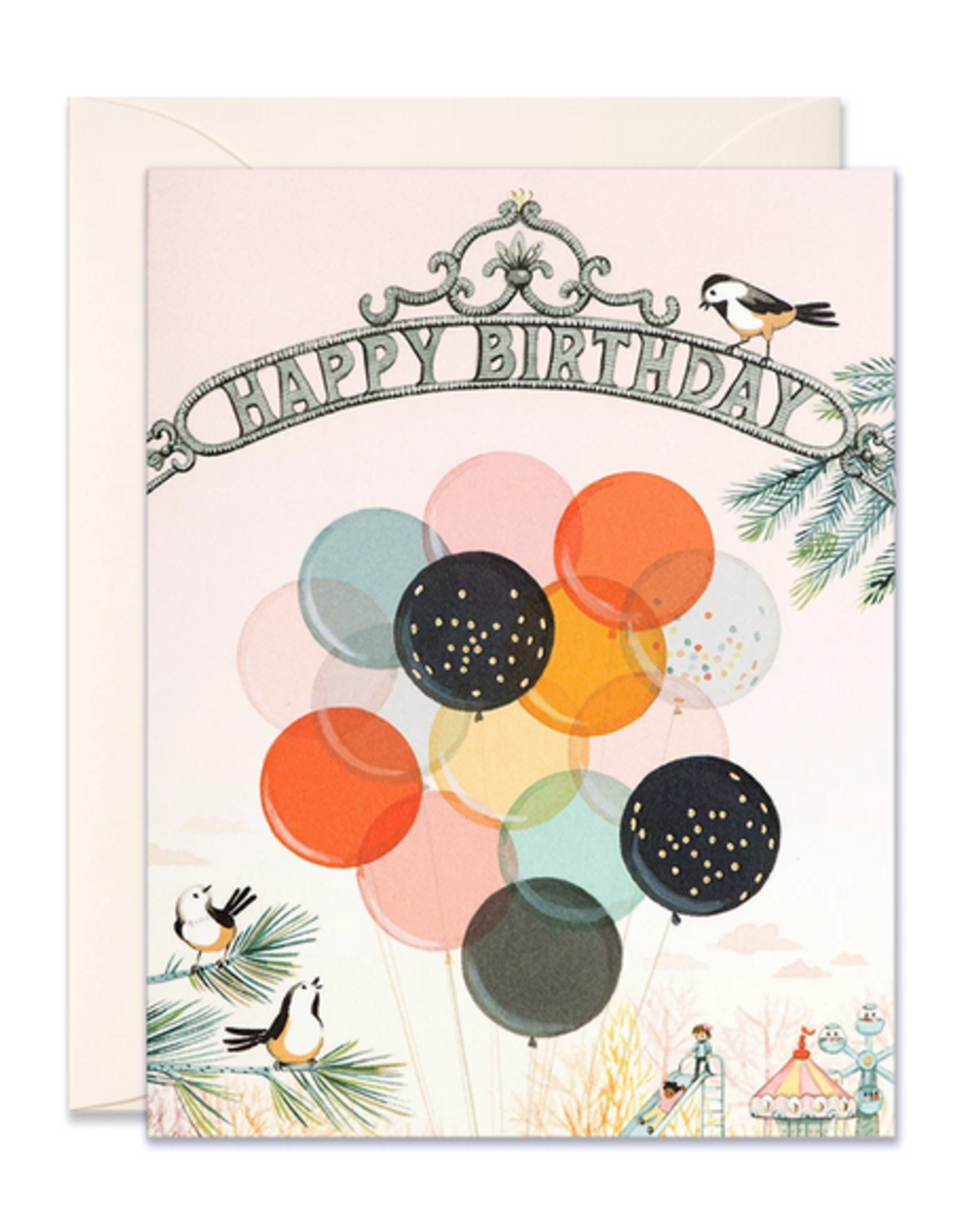 Happy Birthday (Park Gate) Greeting Card