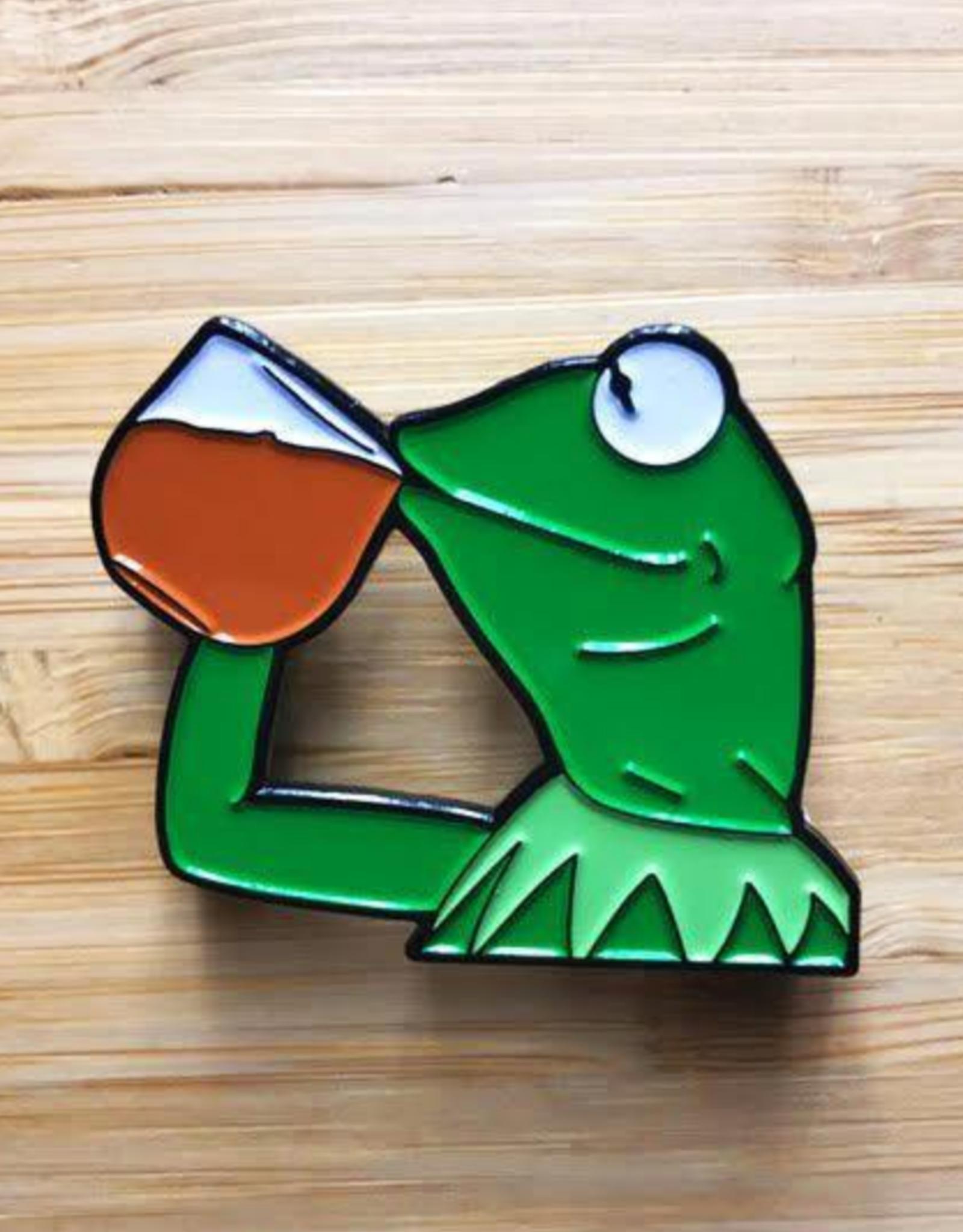 Kermit Enamel Pin