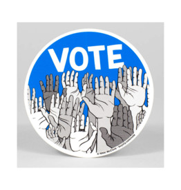 Vote Circle Sticker