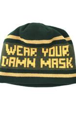Wear Your Damn Mask Knit Beanie