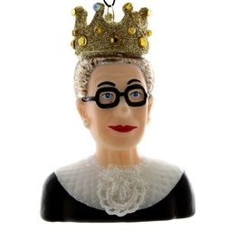 NOTORIOUS RBG Glass Ornament