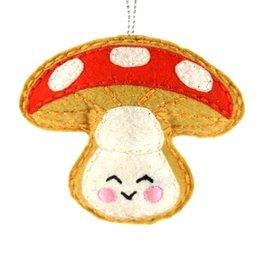 Jolly Mushroom Ornament
