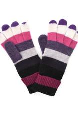Wool Striped Gloves