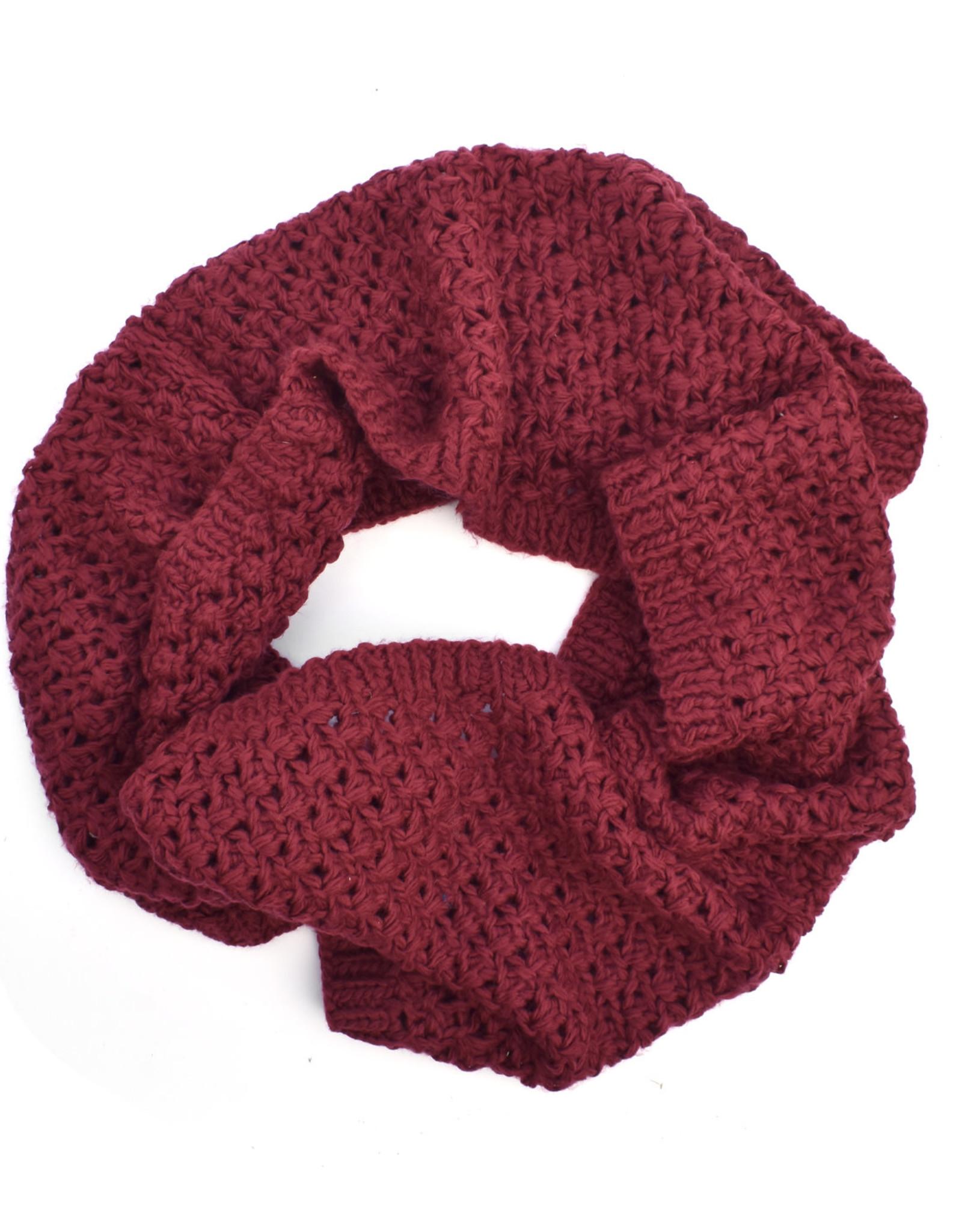 Hand Knit Bubble Textured Snood