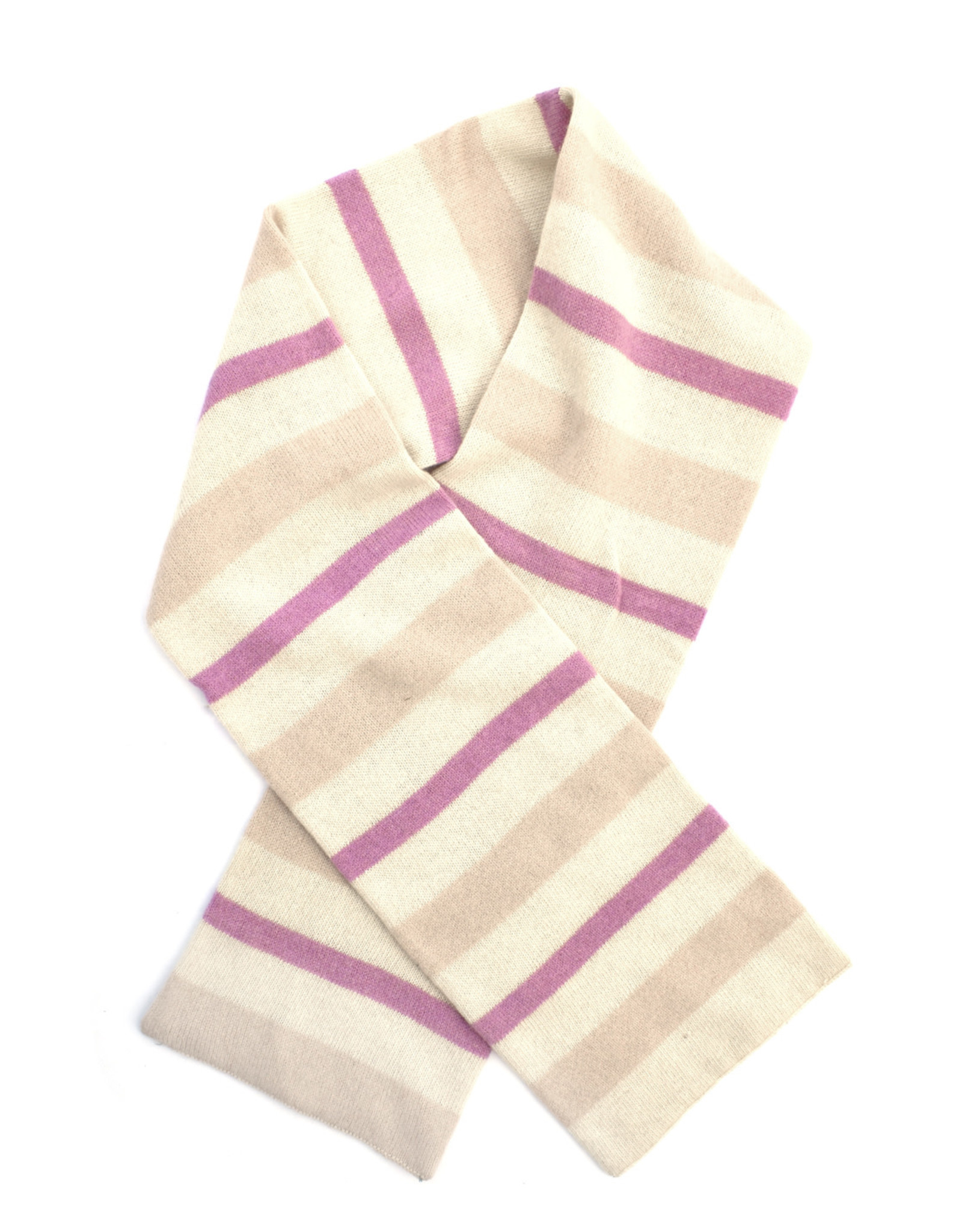 Wool Striped Scarf