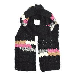 Melange Hand Crochet Scarf (3 colors!)