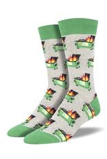 Socksmith Dumpster Fire Crew Socks