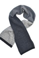Marled Wool Colorblock Scarf