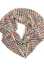 Jeanne Simmons Rainbow Chunky Knit Scarf