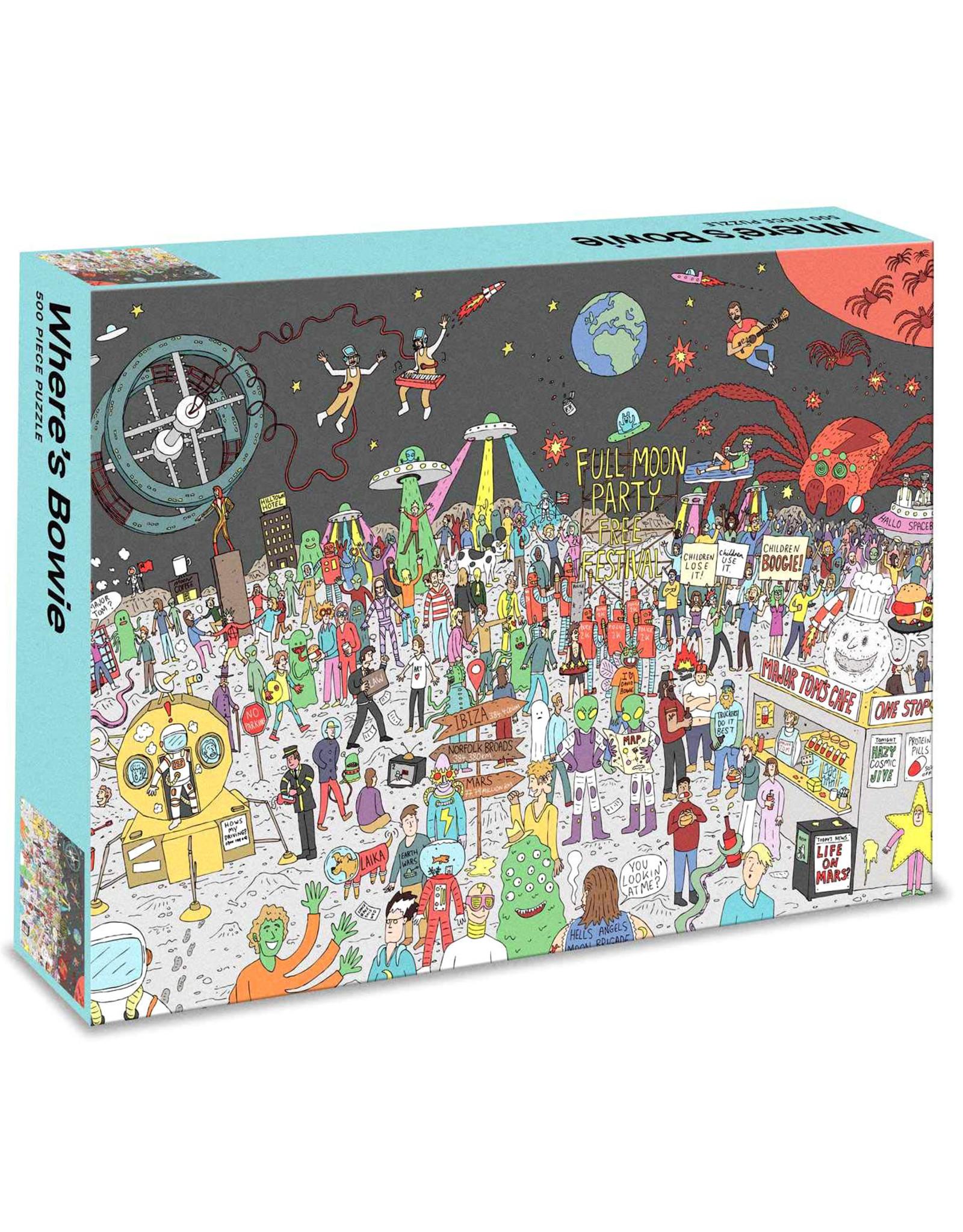 Where's Bowie 500pc Puzzle