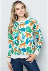 Jungle Cheetah Sweatshirt