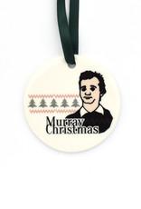 Bill Murray Christmas Ornament