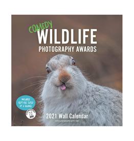 Comedy Wildlife Wall Calendar 2021