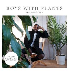 Boys With Plants Wall Calendar 2021