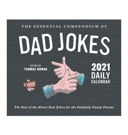 Dad Jokes Daily Pad Calendar 2021