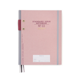 Standard Issue Notebook No. 03 -Dusty Pink
