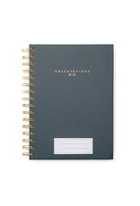 Charcoal Observations Solid Moderns Notebook